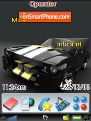Mustang Shelby theme screenshot