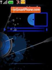 Nokia xpress music es el tema de pantalla