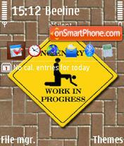No Entry 01 es el tema de pantalla