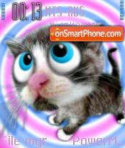 Cute Cat 02 theme screenshot