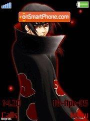 Uchiha Itachi es el tema de pantalla