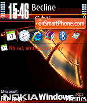 Nokia Windows V1 theme screenshot