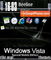 Black Vista V1 es el tema de pantalla