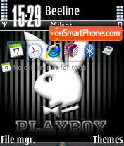 Playboy V1 theme screenshot