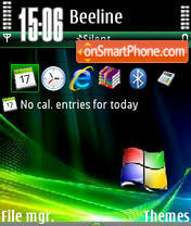 Windows Mobile V1 theme screenshot