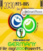 World Cup 2006 Germany theme screenshot