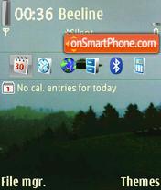 I Want To Believe theme screenshot
