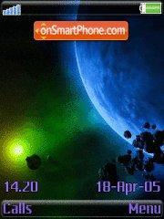 Blue Planet 01 es el tema de pantalla