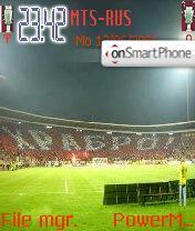 FC Red Star theme screenshot