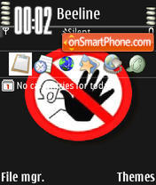 Stop Animated theme screenshot