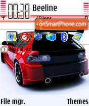Honda Civic 04 es el tema de pantalla