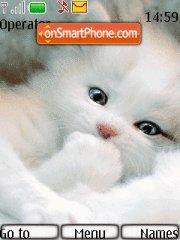 White Cat theme screenshot