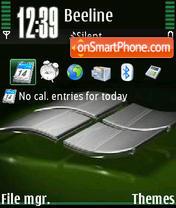 Windows Green V1 theme screenshot