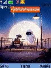 Wall-e & Eva es el tema de pantalla