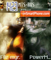 Naruto vs Sasuke vs Lee vs Gaara vs Neji es el tema de pantalla