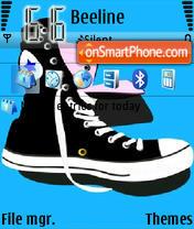 Gym Shoes es el tema de pantalla