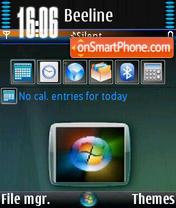 Admin Vista V0 es el tema de pantalla