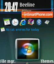 Admin Vista V1 es el tema de pantalla