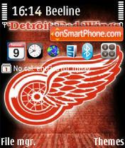 Detroit Red Wings 02 es el tema de pantalla