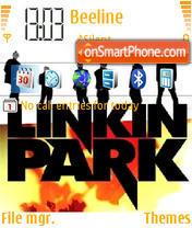 Linkin Park 10 theme screenshot