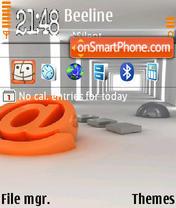 Email 01 es el tema de pantalla