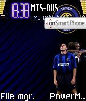 Inter theme screenshot