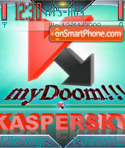 Kaspersky 2 theme screenshot