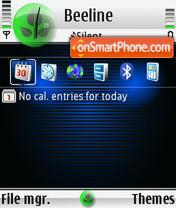 Eve FP1 default es el tema de pantalla