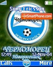 Chernomorets Novorossiysk theme screenshot