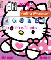 Kitty Baby es el tema de pantalla