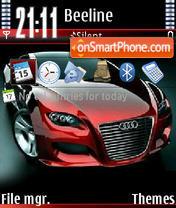 Audi Locus V2 theme screenshot