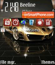 An Mercedes Slr es el tema de pantalla