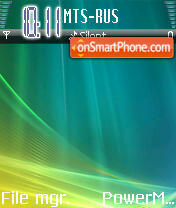 Winvista Real theme screenshot