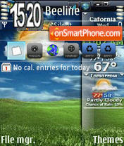 Viwin theme screenshot