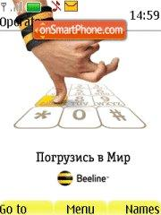Beeline Gsm theme screenshot