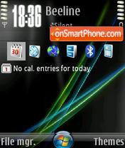 Vista 06 es el tema de pantalla