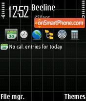 Screen 01 es el tema de pantalla