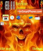 Fire Skull es el tema de pantalla