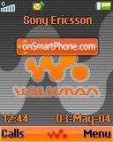 Walkman Shadow es el tema de pantalla