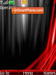Vista Red tema screenshot