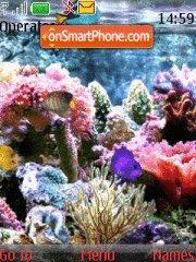 Aquarium tema screenshot