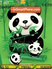 3 Pandas es el tema de pantalla