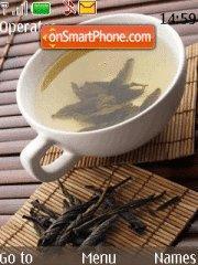 Cup of Tea es el tema de pantalla