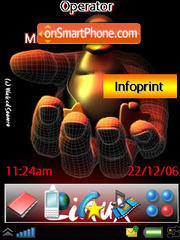 Linux theme screenshot