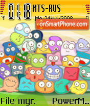 Family 01 theme screenshot