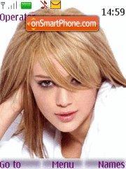 Hilary Duff 21 es el tema de pantalla