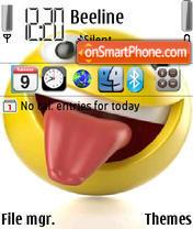 Smiley 09 es el tema de pantalla