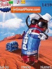 Pepsi es el tema de pantalla