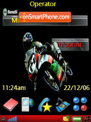 Sport Bikes theme screenshot