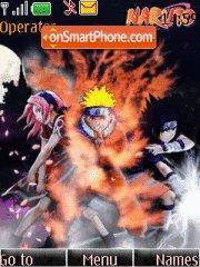 Naruto Shinobi es el tema de pantalla